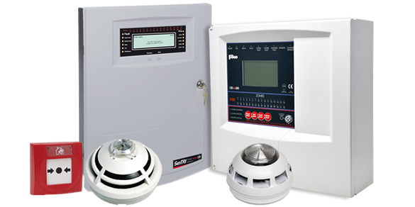 Wired fire alarm systems